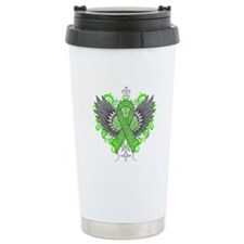 Mental Health Wings Travel Coffee Mug