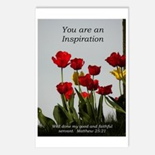Inspiration/tulips Postcards (Package of 8)