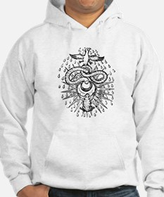 Alchemical Frog, Snake and Ph Hoodie