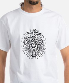 Alchemical Frog, Snake and Ph Shirt
