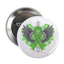 "Lyme Disease Wings 2.25"" Button"