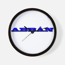 ABBÃ N.png Wall Clock