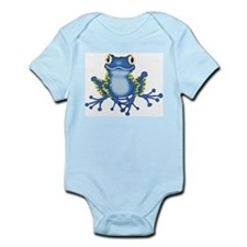 frog BLUE1 Body Suit