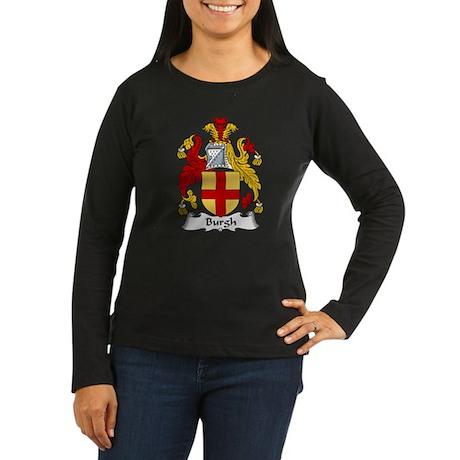 Burgh Women's Long Sleeve Dark T-Shirt