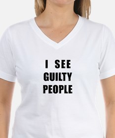See Guilty People Shirt