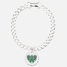 Liver Disease Wings Bracelet