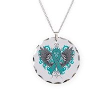 Interstitial Cystitis Wings Necklace