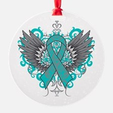 Interstitial Cystitis Wings Ornament