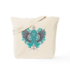 Interstitial Cystitis Wings Tote Bag