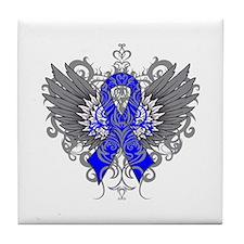 Huntington Disease Wings Tile Coaster