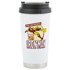 Iron Man Action Travel Mug