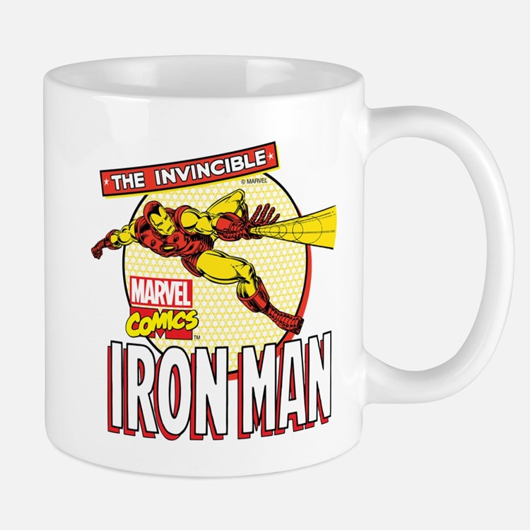 Iron Man Action Mug