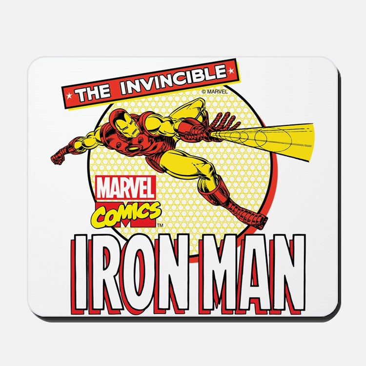 Iron Man Action Mousepad