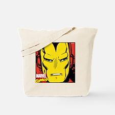 Retro Iron Man Tote Bag