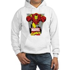 Retro Flying Iron Man Hoodie