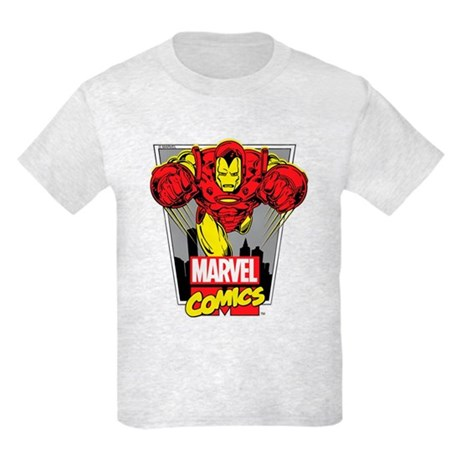 Retro Flying Iron Man T-Shirt by Ironman