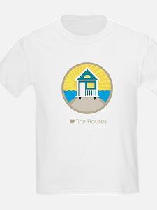 Ilovetinyhousesbeachscene T-Shirt