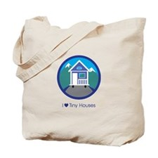 Ilovetinyhousesmountainscene Tote Bag