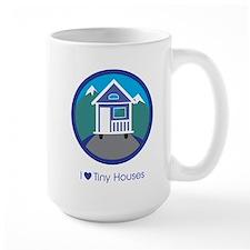 ILoveTinyHousesMountainScene Mugs