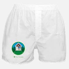 Ilovetinyhousesforestscene Boxer Shorts