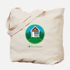 Ilovetinyhousesforestscene Tote Bag