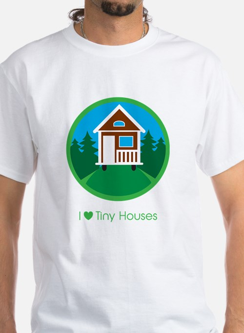Ilovetinyhousesforestscene T-Shirt