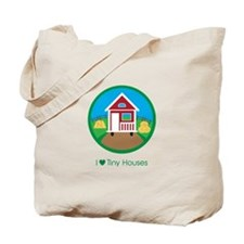 Ilovetinyhousesfarmscene Tote Bag