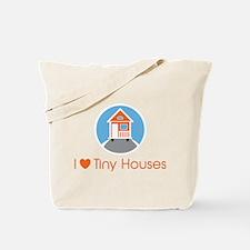 ILoveTinyHousesOrangeHouse Tote Bag