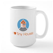 ILoveTinyHousesOrangeHouse Mugs