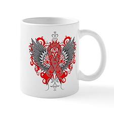 Hemophilia Wings Small Mug