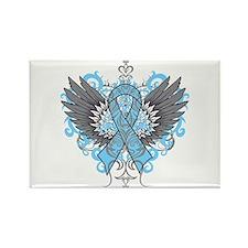 Graves Disease Wings Rectangle Magnet