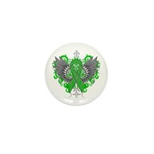 Gastroparesis Wings Mini Button (10 pack)