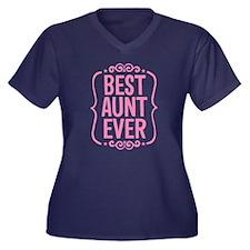 BEST AUNT EVER Plus Size T-Shirt