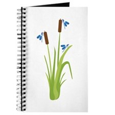 Cattails with Dragonflies Journal