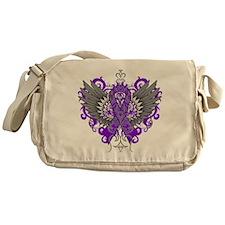 Fibromyalgia Wings Messenger Bag
