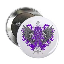 "Fibromyalgia Wings 2.25"" Button (10 pack)"