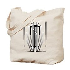 Art Deco Nikola Tesla Tote Bag
