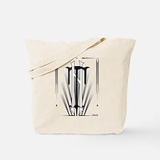 Art Deco Nikola Tesla Tote Bag