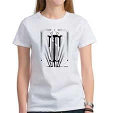 Art Deco Nikola Tesla T-Shirt