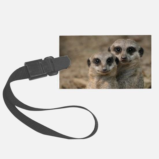 Cute Meerkat Luggage Tag
