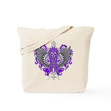 Cystic Fibrosis Wings Tote Bag