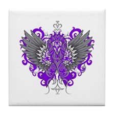 Cystic Fibrosis Wings Tile Coaster
