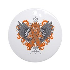 COPD Wings Ornament (Round)