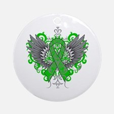 Cerebral Palsy Wings Ornament (Round)