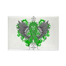 Cerebral Palsy Wings Rectangle Magnet (10 pack)