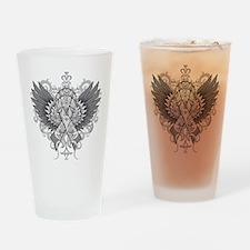 Brain Tumor Wings Drinking Glass