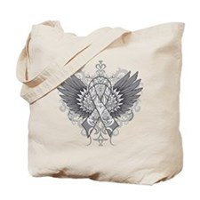 Brain Tumor Wings Tote Bag