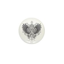 Brain Tumor Wings Mini Button (10 pack)