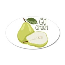 Go Green Wall Decal