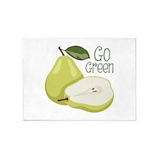 Go Green 5'x7'Area Rug